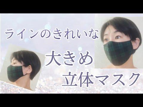 マスク 作り方 きれい 立体